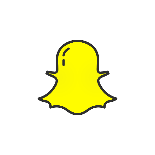 Ghost, Snapchat, Snapchat Logo, Social Media Icon