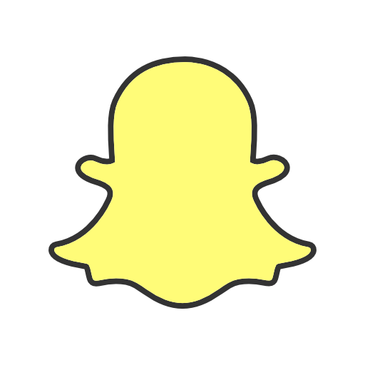 Snapchat Icon Free Of Social Media Logos I Filled Line