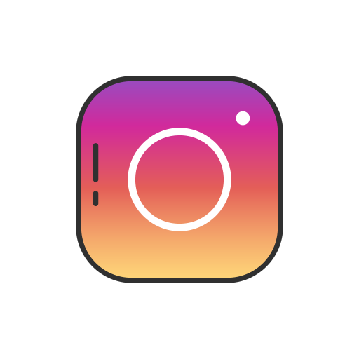 Instagram Button, Social Media, Instagram, Instagram Logo Icon