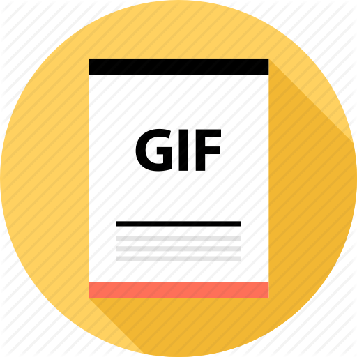 Document, File, Gif Icon