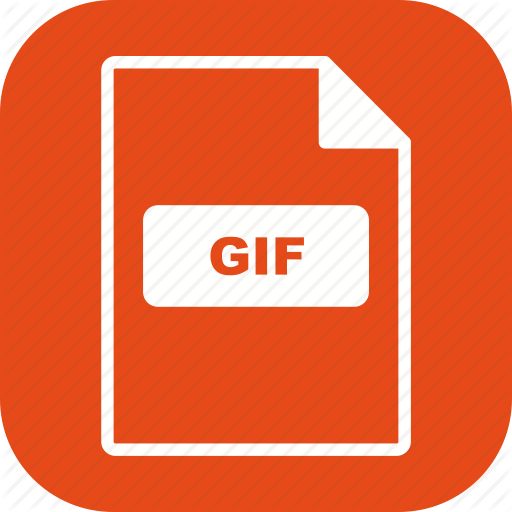 , Extension, Format, Gif Icon