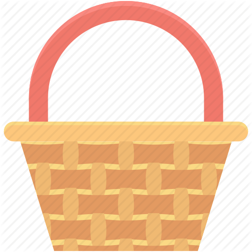 Basket, Carry Basket, Gift Basket, Hamper, Shopping Basket Icon