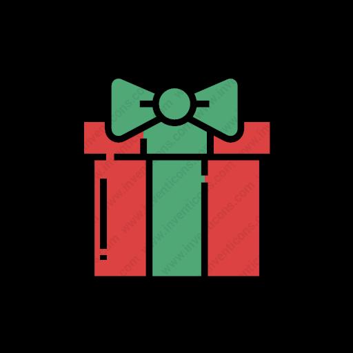 Download Gift,box Icon Inventicons