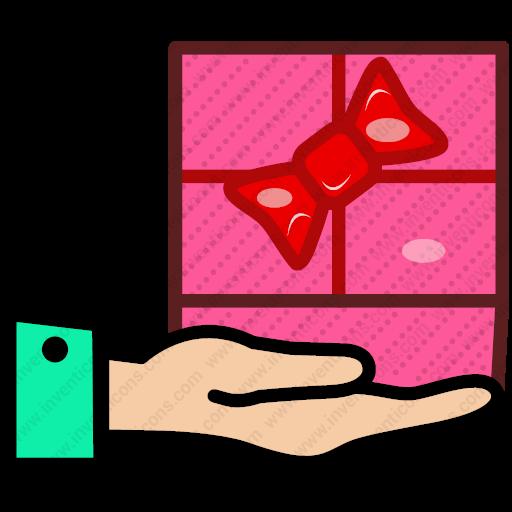 Download Present,surprise,gift,present Box,gift Box Icon Inventicons