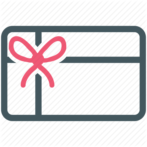 Gift, Gift Card, Present, Shopping Card Icon