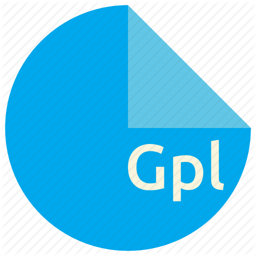 Extension, File, Format, Gimp, Gpl, Palette Icon
