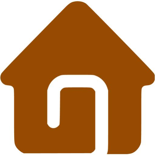 Brown Home Icon