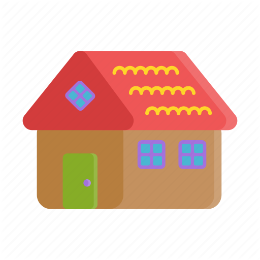 Christmas, Cookie, Gingerbread, Gingerbread House, Home, Icon