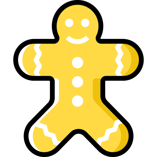 Gingerbread Man Gingerbread Png Icon