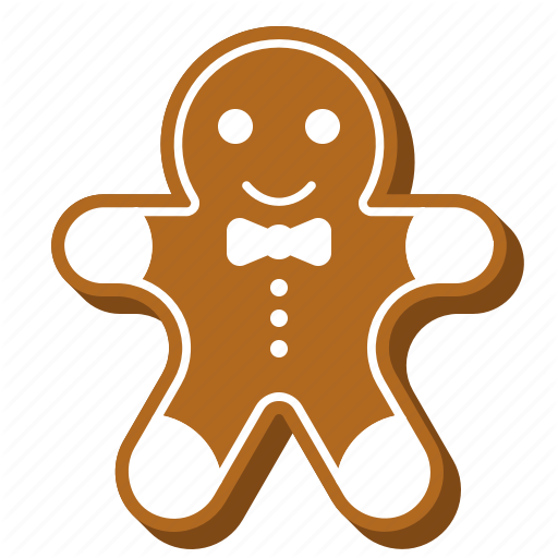 Biscuit, Christmas, Cookie, Cute, Food, Gingerbread Icon