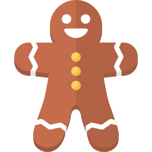 Gingerbread Man Free Vector Icons Designed