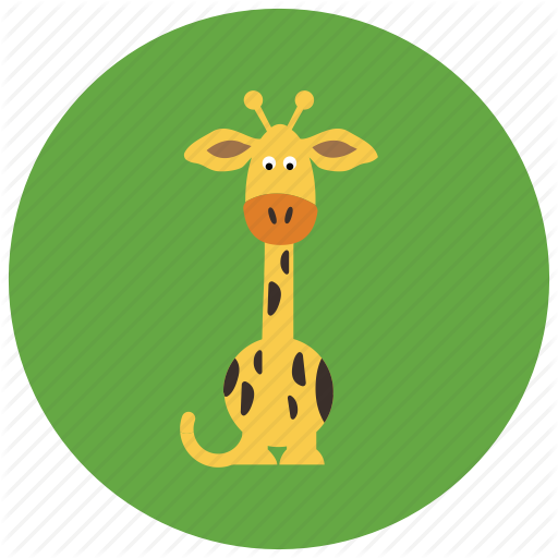 Africa, Animals, Cute, Giraffe, Tall Icon