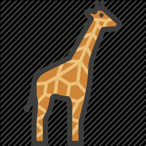 African, Animal, Giraffe Icon