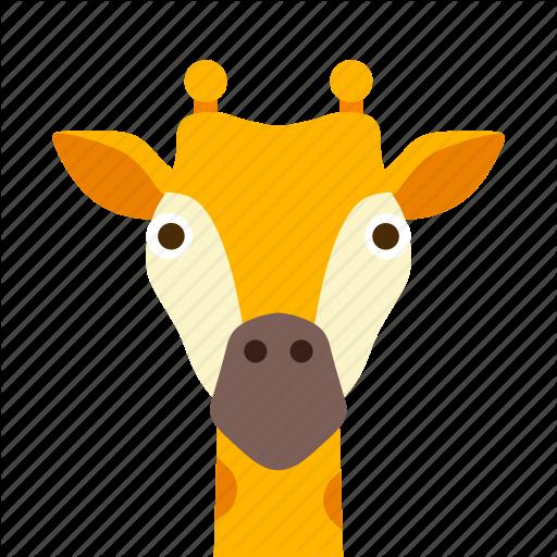 Face, Giraffe Icon