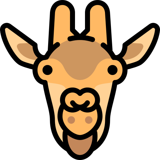 Giraffe Africa Png Icon