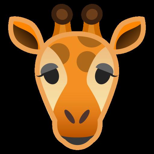 Giraffe Icon Noto Emoji Animals Nature Iconset Google