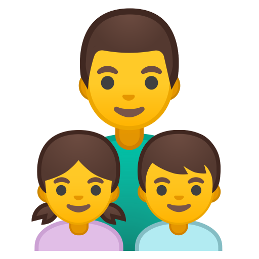 Family Man Girl Boy Icon Noto Emoji People Family Love Iconset