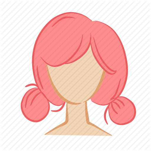 Beauty, Face, Girl, Hair, Head, Pink, Woman Icon