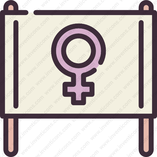 Download Banner,gender,feminism,woman,female,sign,girl Icon