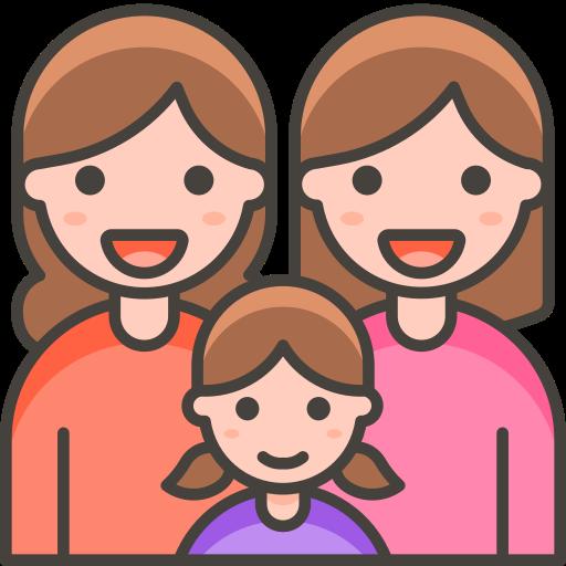 Family, Woman, Woman, Girl Icon Free Of Free Vector Emoji