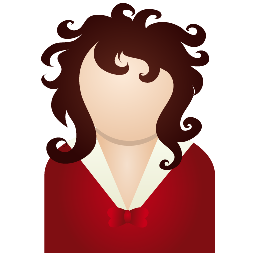 Red Woman Icon People Iconset Dapino