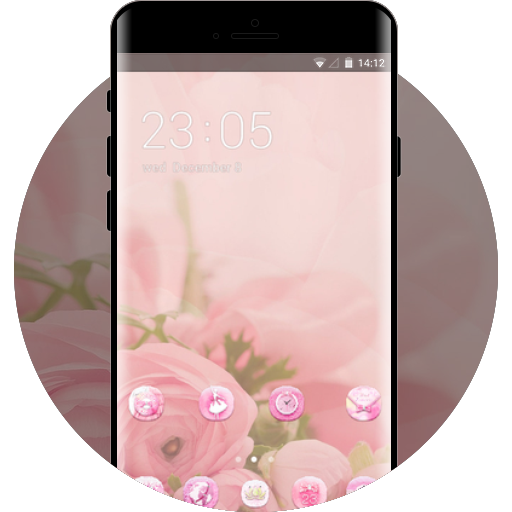 Pink Girly Theme Free Android Theme U Launcher