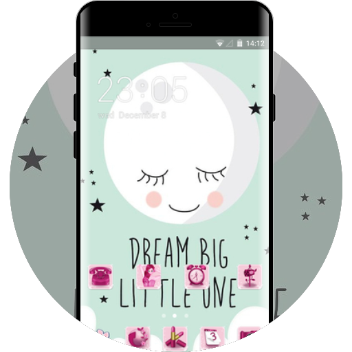 Girly Theme Free Android Theme U Launcher
