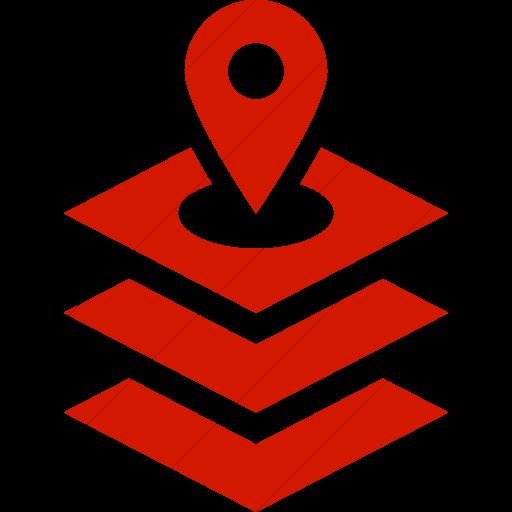 Simple Red Iconathon Gis Icon