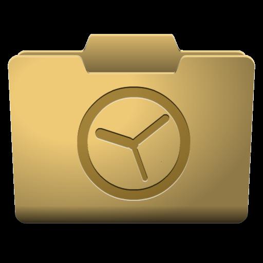 Yellow History Icon