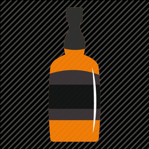 Alcohol, Bar, Beverage, Bottle, Brandy Bottle, Drink, Glass Icon