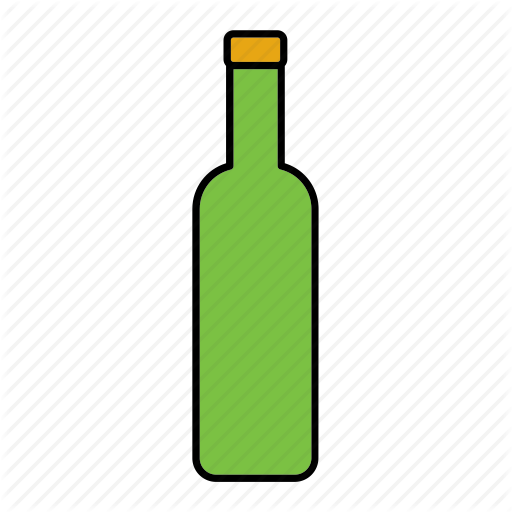 Beverage, Bottle, Container, Drink, Glass, Packaging, Wine Icon