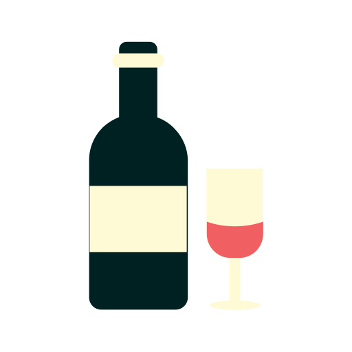 Beverage, Drink, Glass, Red, Wine Icon Free Of Drink And Beverages