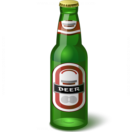 Iconexperience V Collection Beer Bottle Icon
