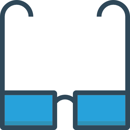 Glasses Icon Seo And Marketing Dinosoftlabs