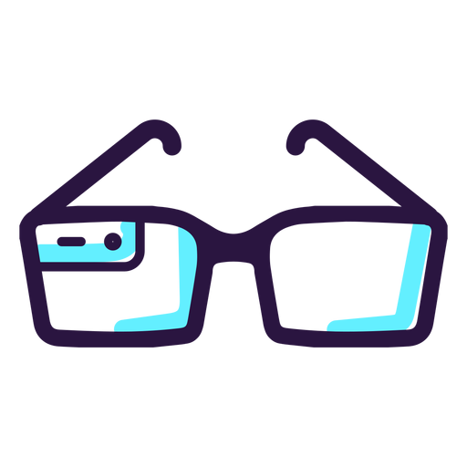 Augmented Reality Glasses Icon