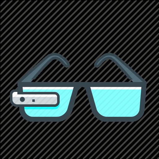 Devices, Glasses, Google Glass, Smart, Smart Glasses Icon