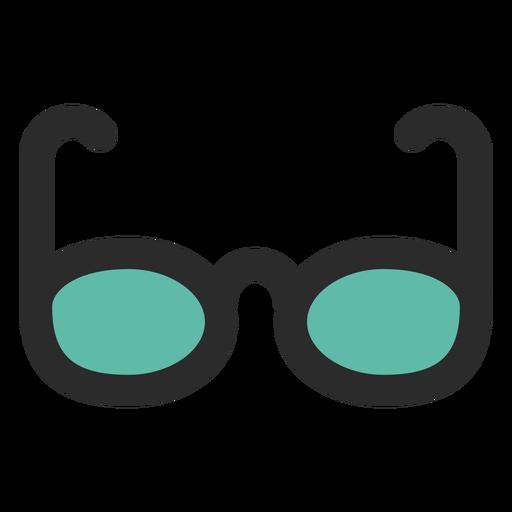 Sun Glasses Colored Stroke Icon