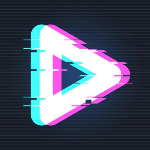 Glitch Vaporwave Video Fx