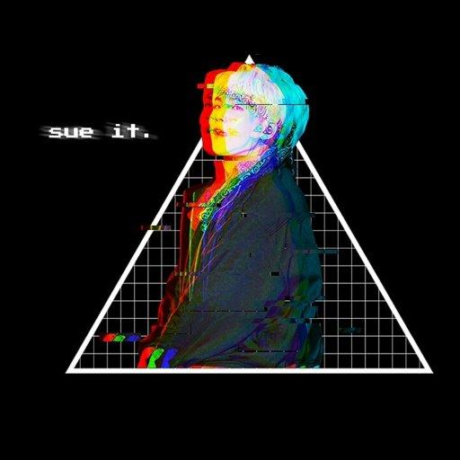 Glitch Yoongi Icon + Header Army's Amino