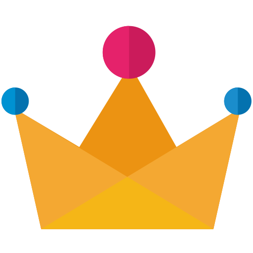 Silver King Crown Glitter Icons, Download Free Png And Vector