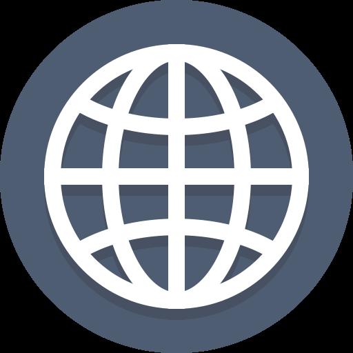 Globe, Global, Network, Planet Icon