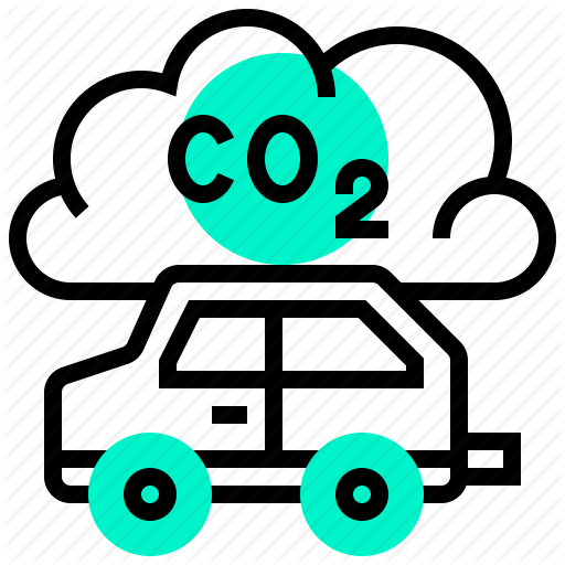 Carbon, Dioxide, Gas, Global, Warming Icon