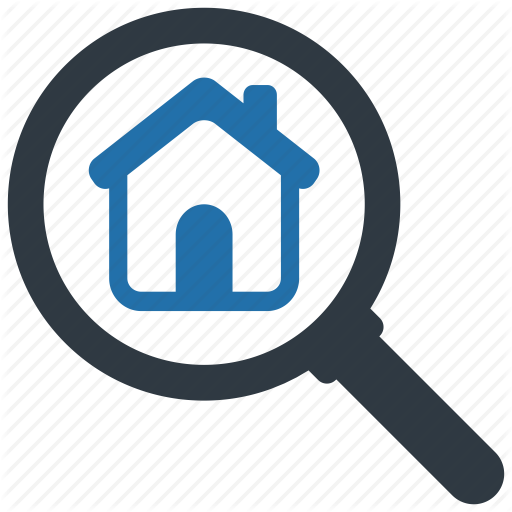 Apartment, Building, Estate, Find, Home, House, Search Icon