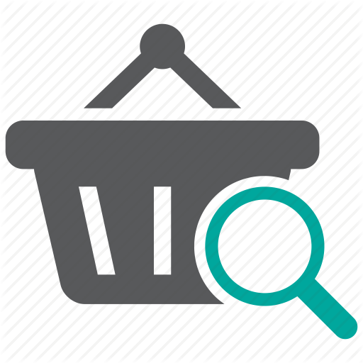 Basket, Find, Product, Search Icon