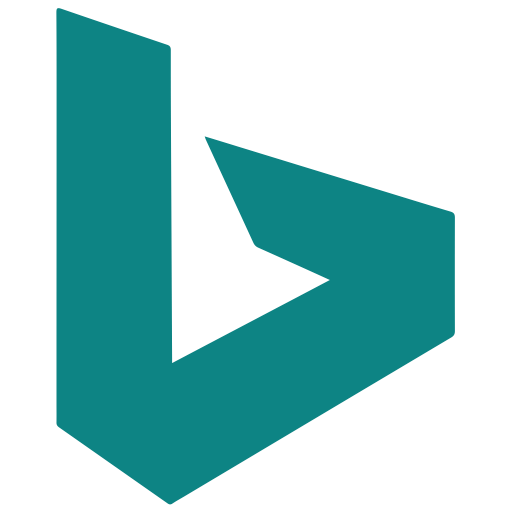 Bing Glyph Icon