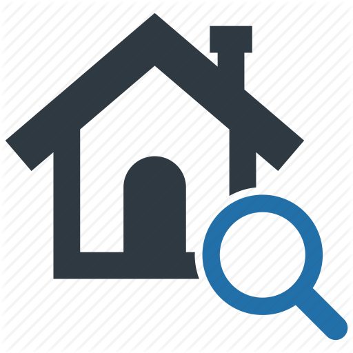 Building, Estate, Find, Home, House, Property, Search Icon