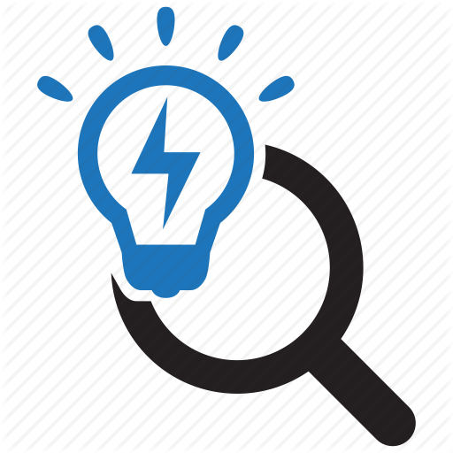Bulb, Find, Intelligent, Scan, Scanner, Search, Smart Icon