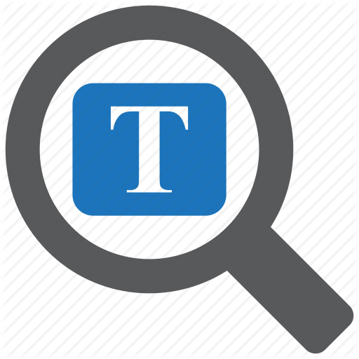 Document, File, Find, Magnifier, Search, Text, Word Icon