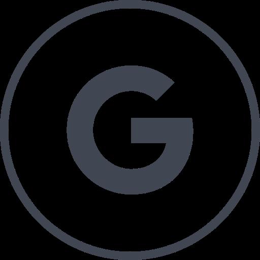 Social Media Search Glyph Icon