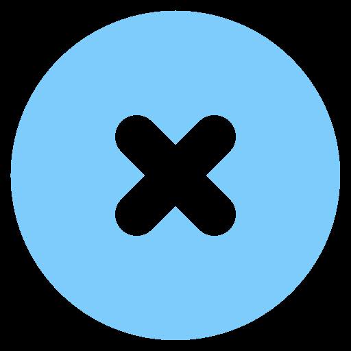 Cross, Circle, Delete, Remove Icon